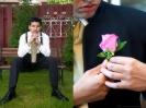 Homme avec cravate
