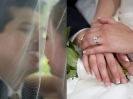 Mariage macro photo