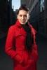 Photo manteau rouge